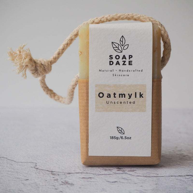 Oatmylk Soap on a Rope