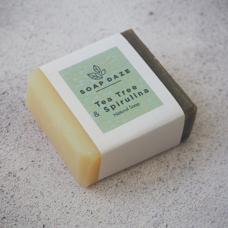 Tea Tree and Spirulina Mini Soap