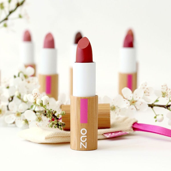 Zao organic vegan refillable classic matt lipsticks