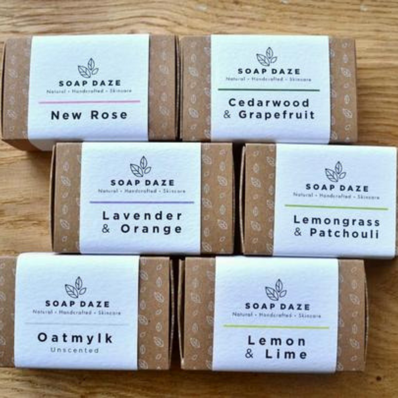 Large Handmade Natural Vegan Hand Soaps