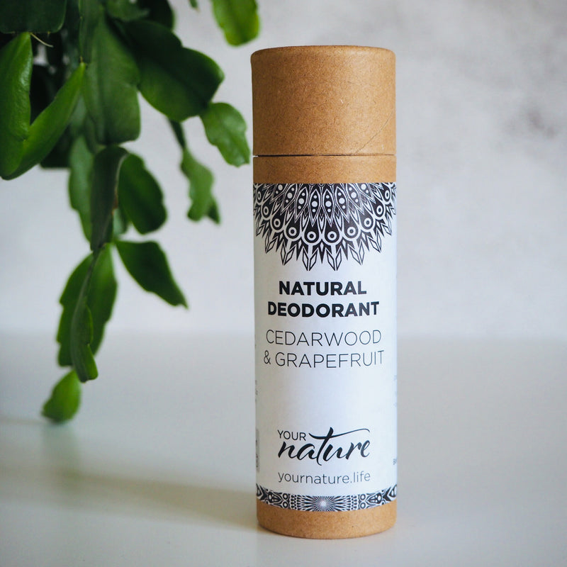 Cedarwood / Grapefruit Natural Vegan Deodorant