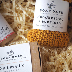 Unscented Oatmylk Soap and Natural Deodorant Gift Set