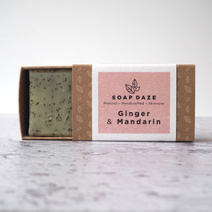 Ginger and Mandarin Bar Soap