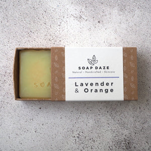 Lavender and Orange Bar Soap