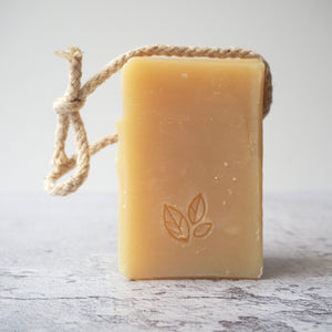 Cedarwood and Grapefruit Soap on a Rope