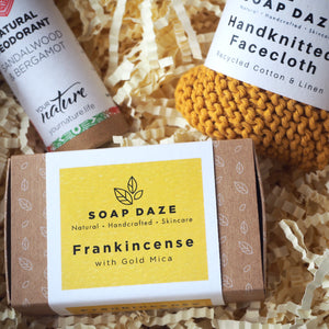 Frankincense Soap and Natural Deodorant Gift Set