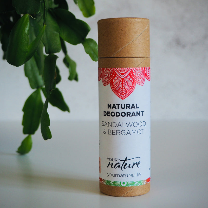 Sandalwood / Bergamot Natural Vegan Deodorant