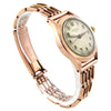 14K Rose Gold Doctor's Watch w/ 14k Rose Gold Bracelet