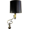 Frederick Cooper Floor Lamp w/ Turned Walnut Base