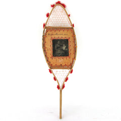 Antique Mini-Snowshoe w/ Portrait