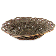 Antique Santo Domingo Wide Basket Bowl