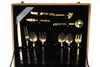 Boxed Thai Bronze Flatware, 133 pcs.