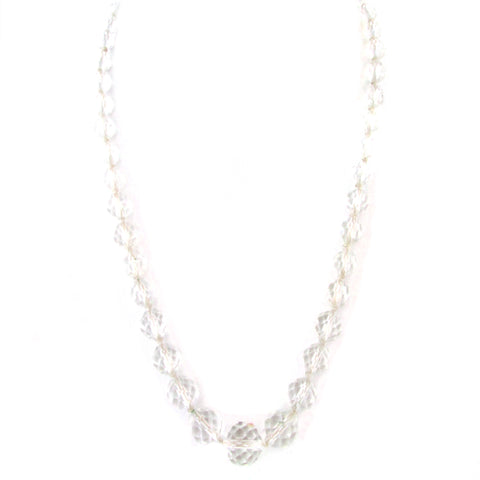 Cut-Crystal Necklace