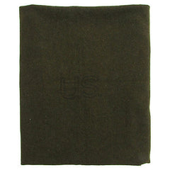 Green Wool US Army Blanket