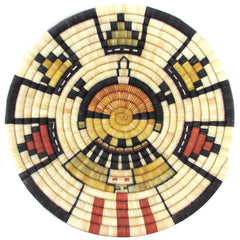 Hopi Kachina Maiden Coiled Basket