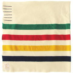 Hudson's Bay Queen Size Candy Stripe Point Blanket