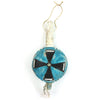 Blue Ceremonial Rattle Wall Hanging