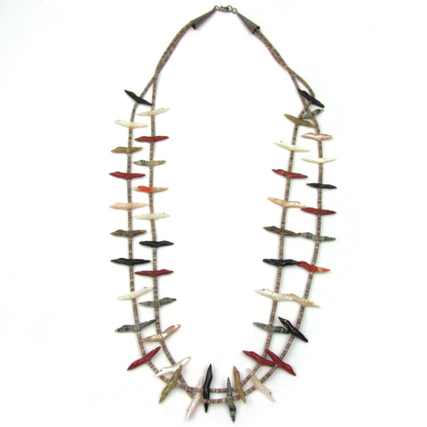 Double Strand Zuni Fetish Necklace