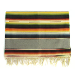 Saltillo Serape w/ Grey Bands