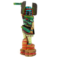 Crow Mother Kachina by Larry Valentine