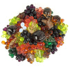 Austrian Art Glass Grape & Fruits Centerpiece or Diffuser