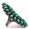 Zuni Petit Point Cluster Ring, Size 8