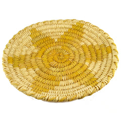 Small Papago Basket with Star Decoration