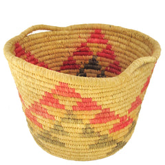 Red & Black Handled Basket