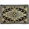 "Two Grey Hills Navajo Rug 4'3""x6'"