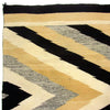 "Transitional Navajo Rug w/ Neutral Colors & Diamond Pattern 4'5"" x 7'6"""