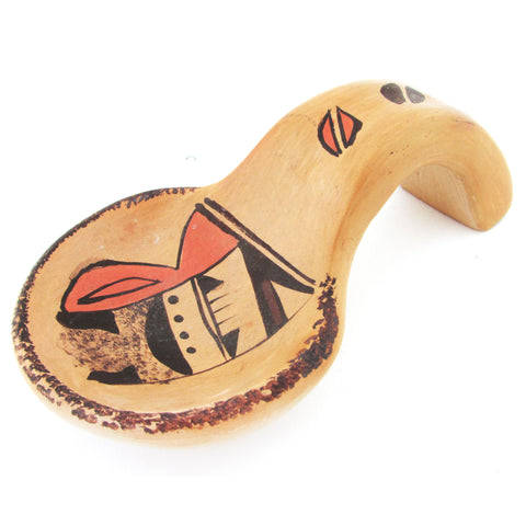 Petit Hopi Pottery Spoon Rest