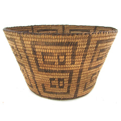 Pima Basket w/ S CO Letter Decoration