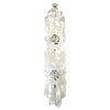 White Capiz Shell Double-Helix Cloud Hanging Light Fixture