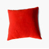 Large Red + Black Pillow made from Four Point Hudson Bay Blanket
