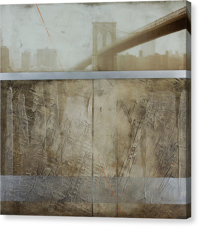 Brooklyn  Fog - Canvas Print - SEVENART STUDIO