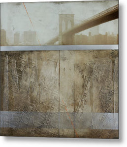 Brooklyn  Fog - Metal Print - SEVENART STUDIO