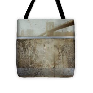 Brooklyn  Fog - Tote Bag - SEVENART STUDIO