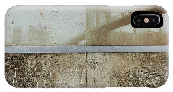 Brooklyn  Fog - Phone Case - SEVENART STUDIO