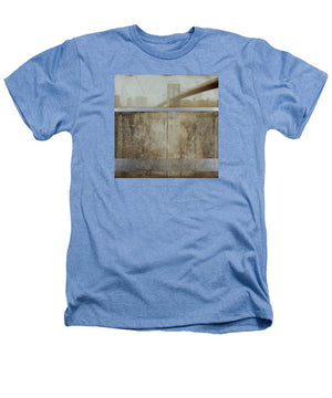 Brooklyn  Fog - Heathers T-Shirt - sevenart-studio