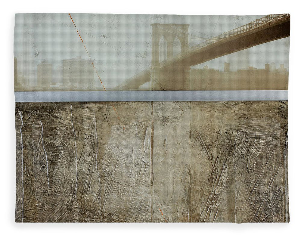 Brooklyn  Fog - Blanket - SEVENART STUDIO