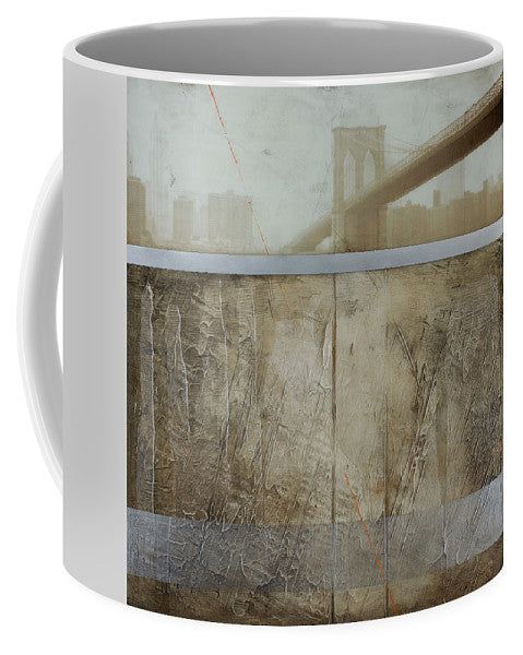 Brooklyn  Fog - Mug - SEVENART STUDIO