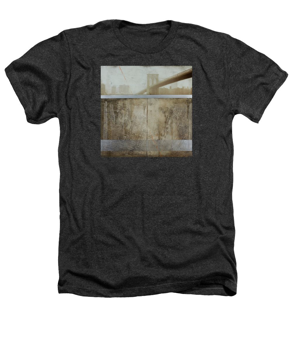 Brooklyn  Fog - Heathers T-Shirt - SEVENART STUDIO