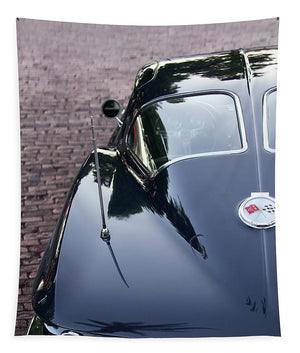 63 Split Window Corvette Tapestry - SEVENART STUDIO