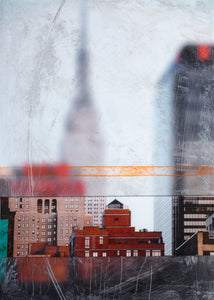 Empire State Blur - Original Limited Edition Painting - SEVENART STUDIO