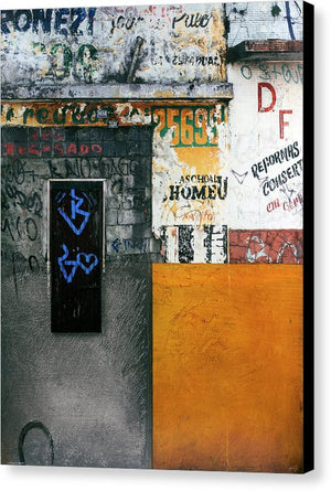Brazil Graffit B - Canvas Print - SEVENART STUDIO