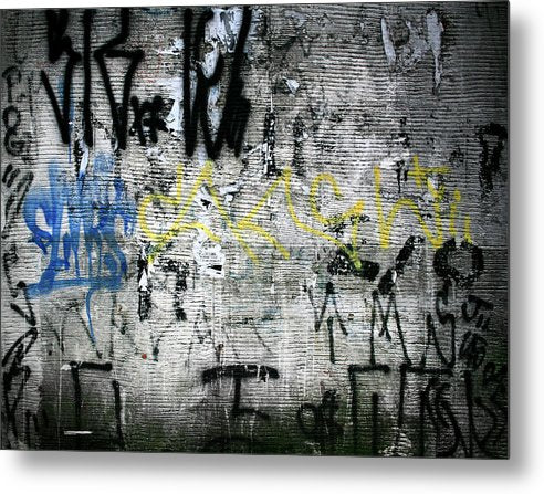 Brazil Graffiti - Metal Print - SEVENART STUDIO