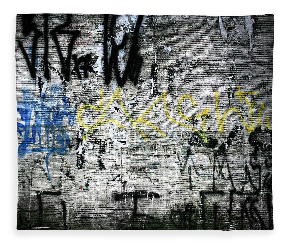 Brazil Graffiti - Blanket - SEVENART STUDIO