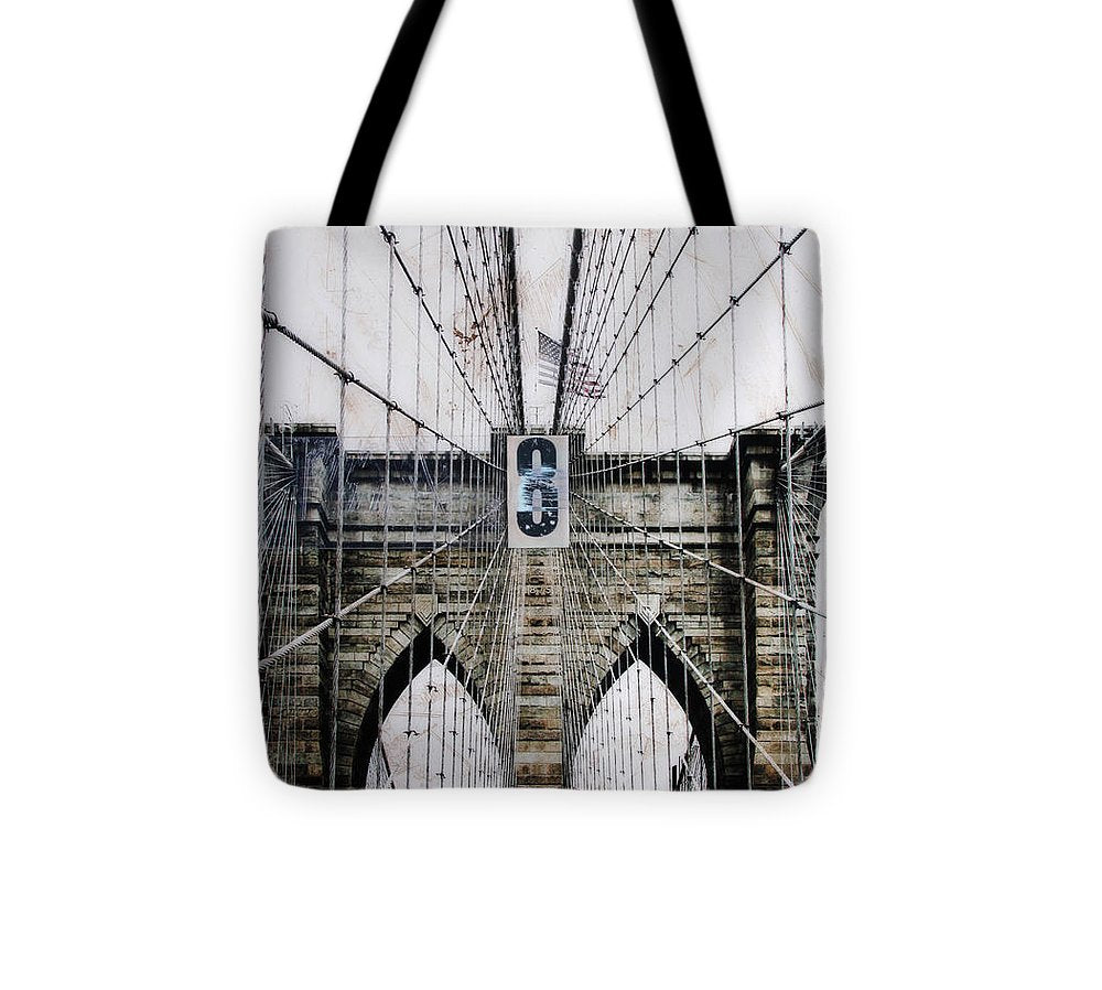 Brooklynn Cables - Tote Bag - SEVENART STUDIO