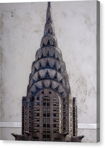 Chrysler Building - Canvas Print - SEVENART STUDIO