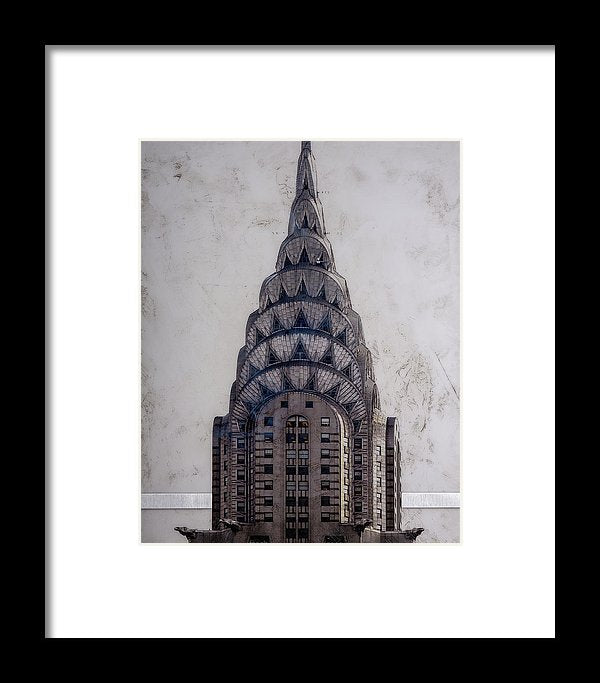Chrysler Building - Framed Print - SEVENART STUDIO